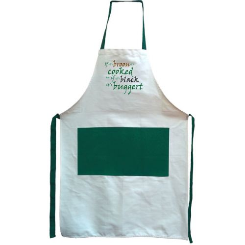 100% Cotton Apron - If its Broon its Cooked by Sprint Design