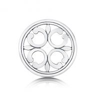 Sheila Fleet Sterling Silver Cathedral Brooch