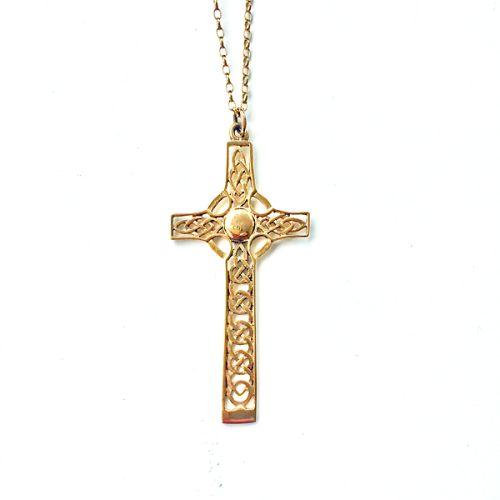 St Monan Celtic Gold Cross