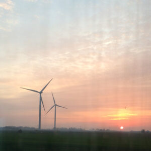 Train from Hamburg to Sylt