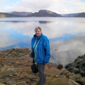 Margaret, at Plockton.