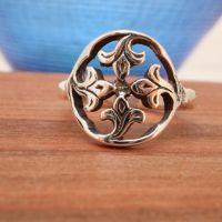 Sandray Silver Ring