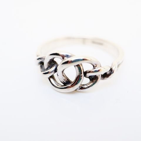 The Isles Celtic Knotwork Silver Ring