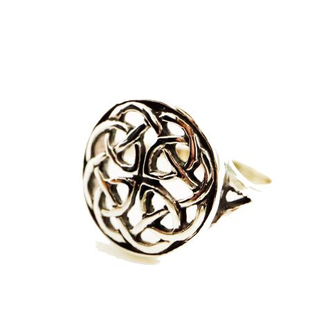 Pabbay Celtic Silver Ring