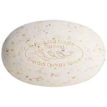 Six Large Bars of Oatmeal Soap - Scottish Fine Soaps