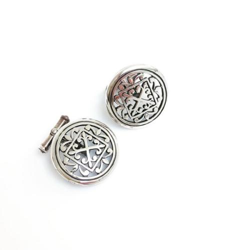 Sheila Fleet St Magnus Cathedral Silver Cufflinks